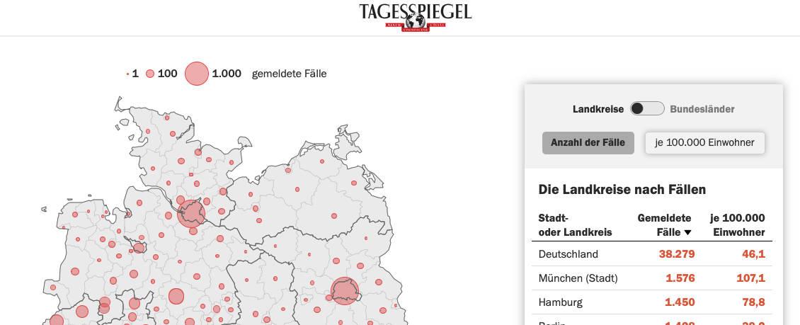 coronavirus deutschland statistik